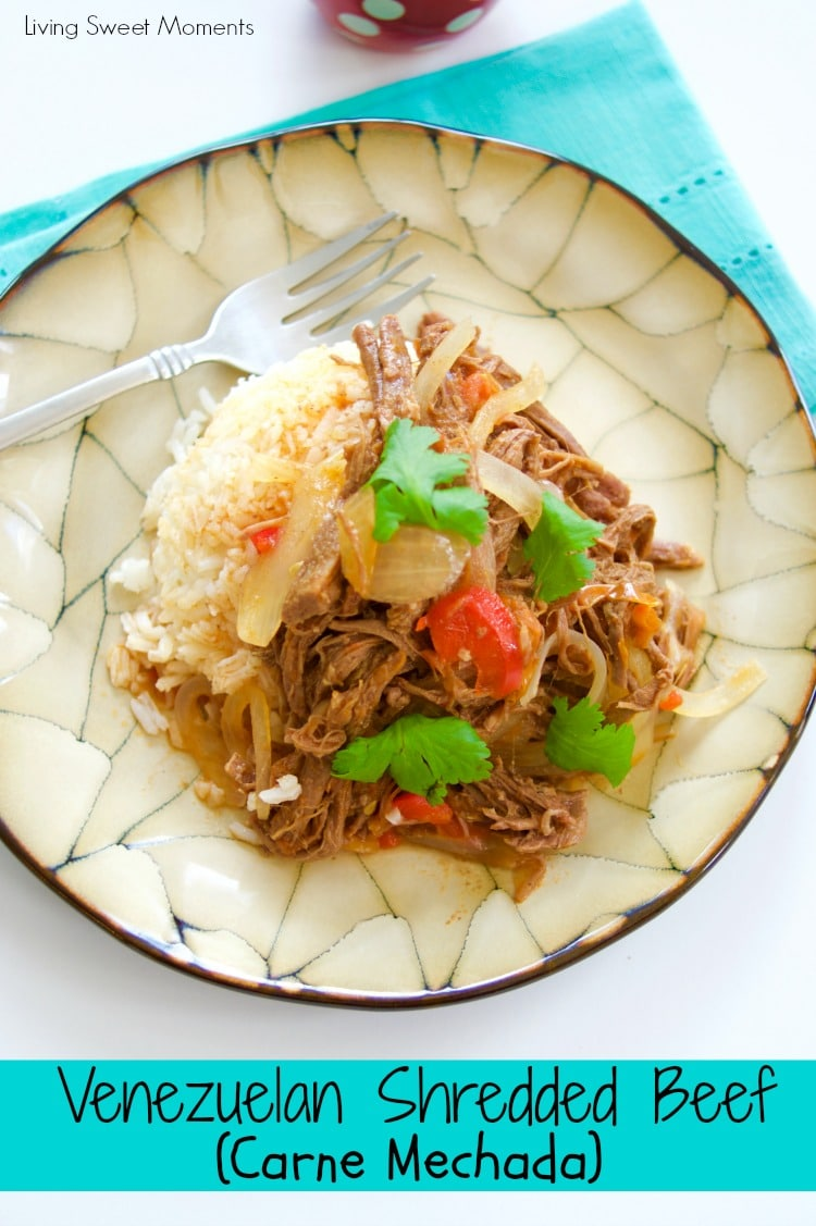 Venezuelan Shredded Beef - Made In The Instant Pot ...