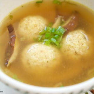 Asian Style Matzo Ball Soup