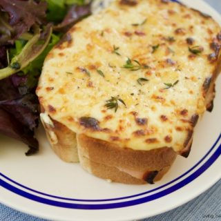 Easy Croque Monsieur Sandwiches