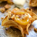 Plantains Foster Ice Cream Tacos + Video