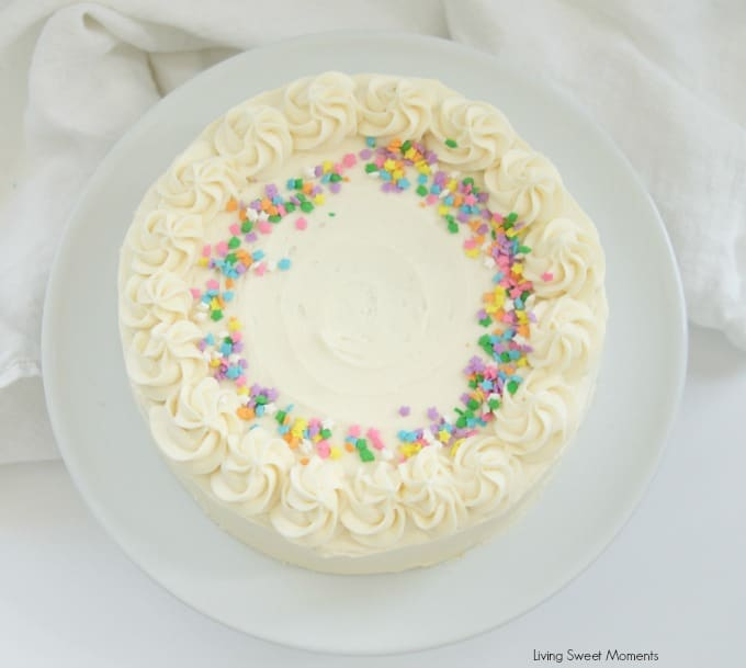 Cake Icing Ideas Birthday : Birthday Cake Icing Recipe - Living Sweet Moments