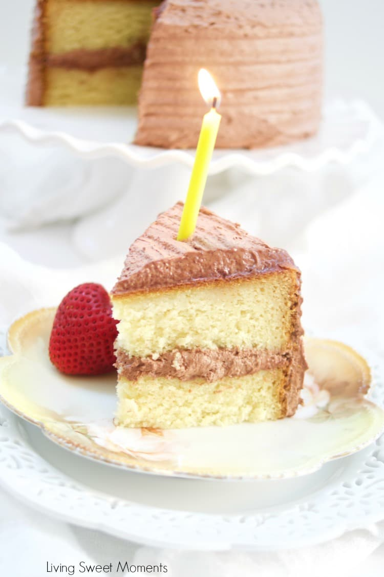Delicious diabetic birthday cake recipe living sweet moments this delicious diabetic birthday cake recipe has a sugar free vanilla cake with sugar free chocolate forumfinder Choice Image