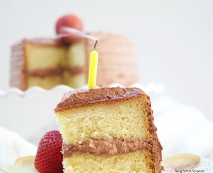 Best Moist Vanilla Cake Recipe