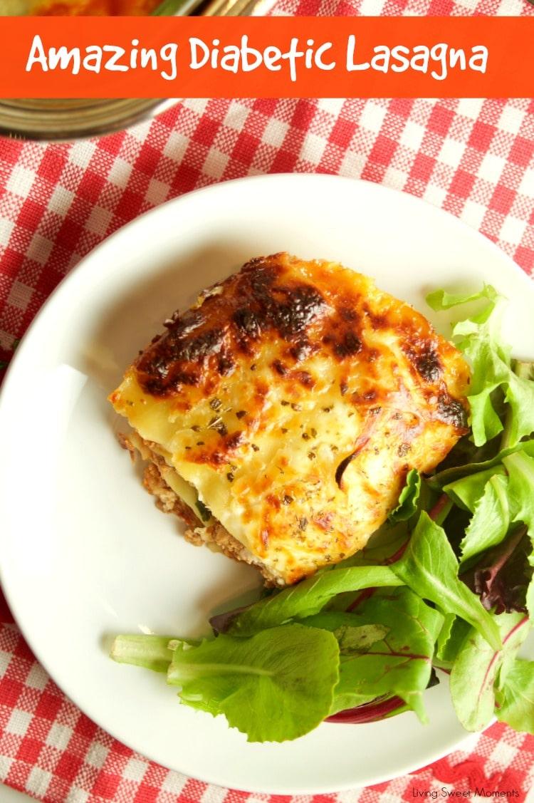Diabetic Lasagna Recipe