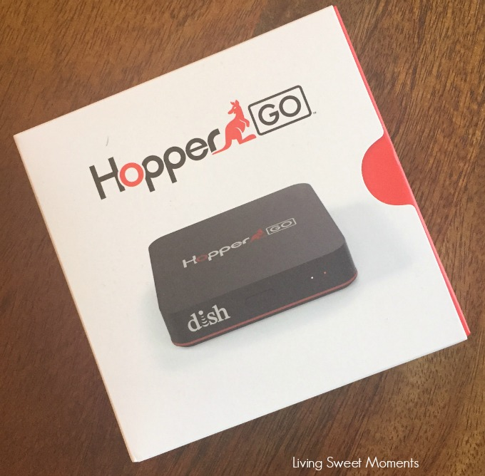 The new HopperGO can record up to 100 hours of movies and show available in your DVR then watch them anywhere without an internet connection!