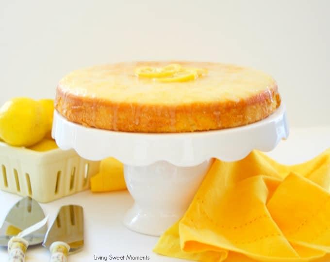 Lemon Cake Recipes On Pinterest: Moist Lemon Cake Recipe