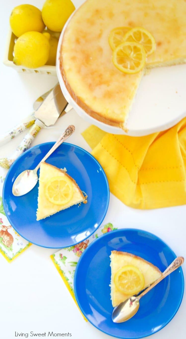 Moist Lemon Tea Cake Recipe