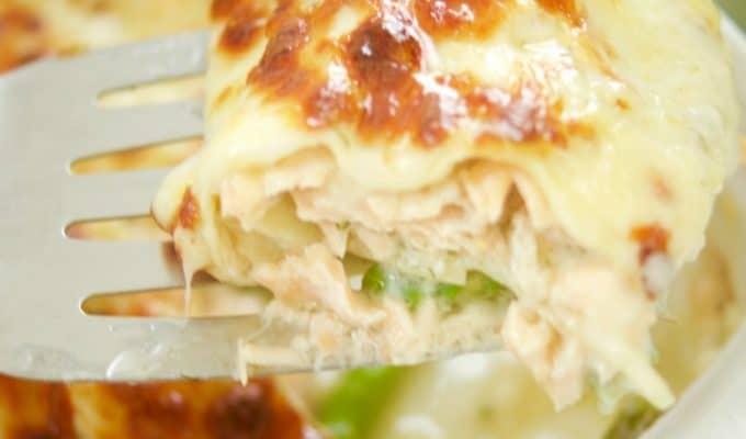 Salmon Lasagna Recipe