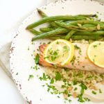 Broiled Salmon With Tahini Sauce