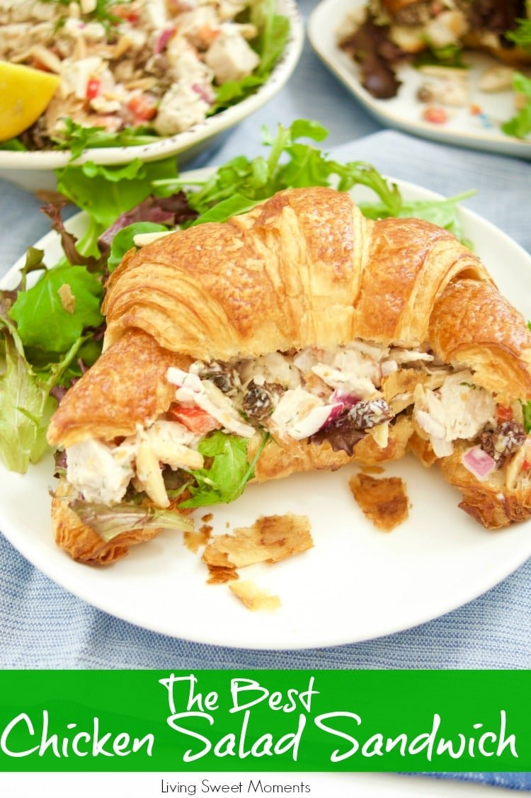 Amazing Chicken Salad Sandwich Recipe Living Sweet Moments