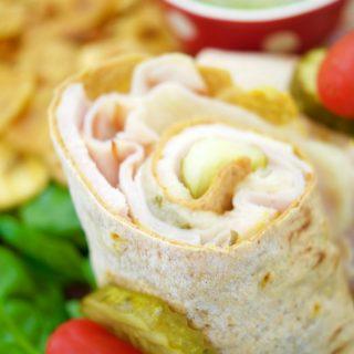 Easy Cuban Sandwich Wrap