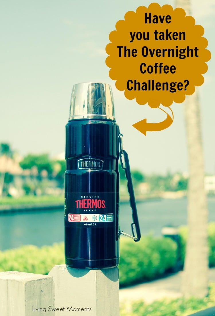 Are you brave enough to take the Overnight Coffee Challenge? Your box will arrive by mail and inside there will be a Thermos with hot coffee waiting for you