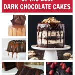 10 Amazing Dark Chocolate Cake Recipes