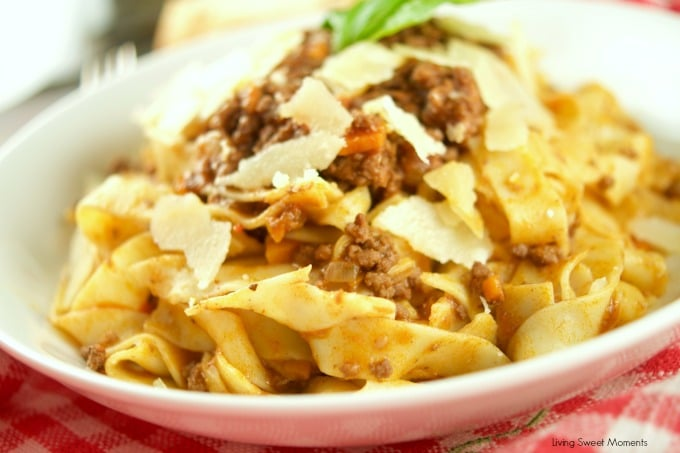 quick bolognese sauce a quick and hearty bolognese sauce filled with ...