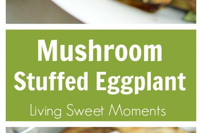 eggplant stuffed with mushrooms recipe cover