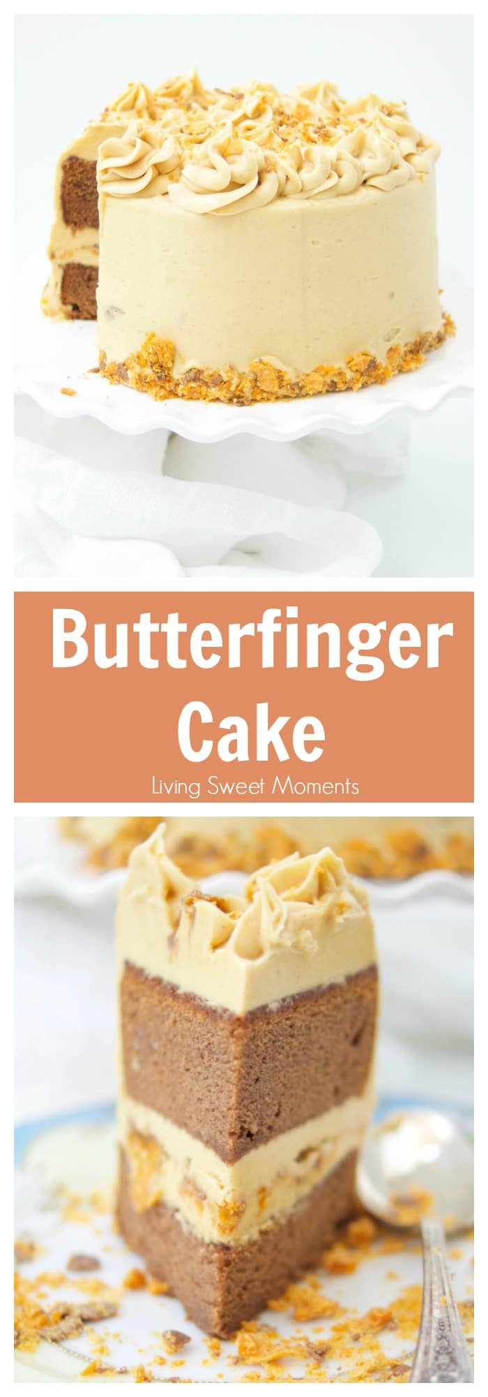Need Recipe For Butterfinger Cake