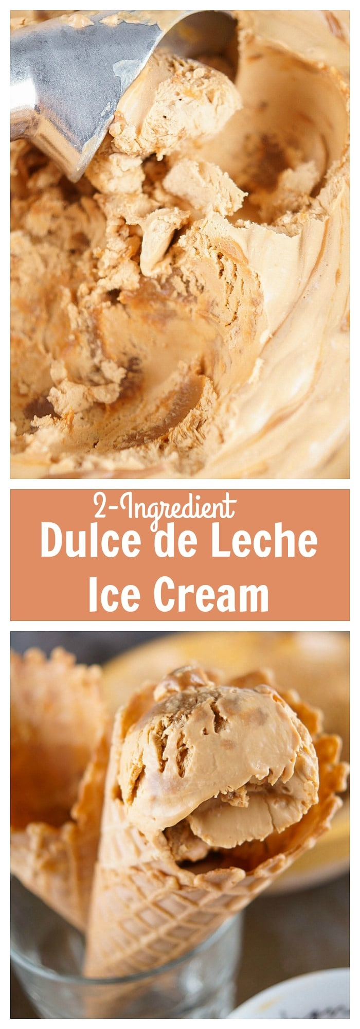 dulce de leche ice cream 2 ingredient dulce de leche ice cream ...