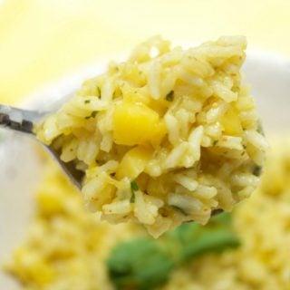 Spicy Mango Rice Recipe