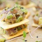 Tuna Tartare With Avocado Appetizer