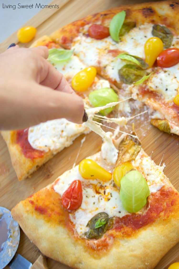 Delicious Burrata Pizza Recipe Living Sweet Moments