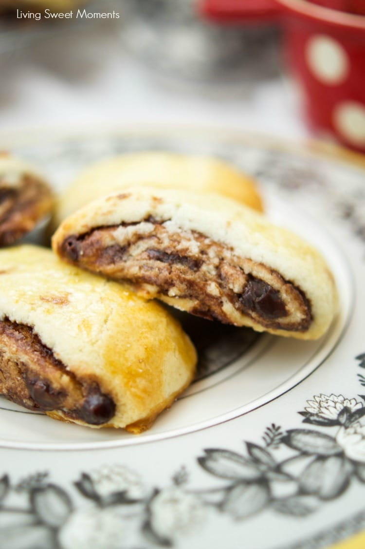 Easy Chocolate Rugelach Recipe — Dishmaps
