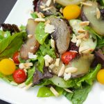 Maple Roasted Peach Salad