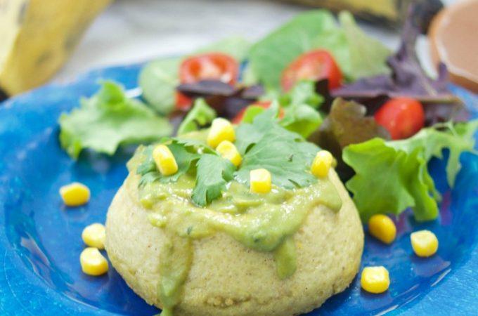 This creamy plantain corn sformato recipe (Italian custard), is the perfect vegetarian entree or appetizer recipe for any occasion.