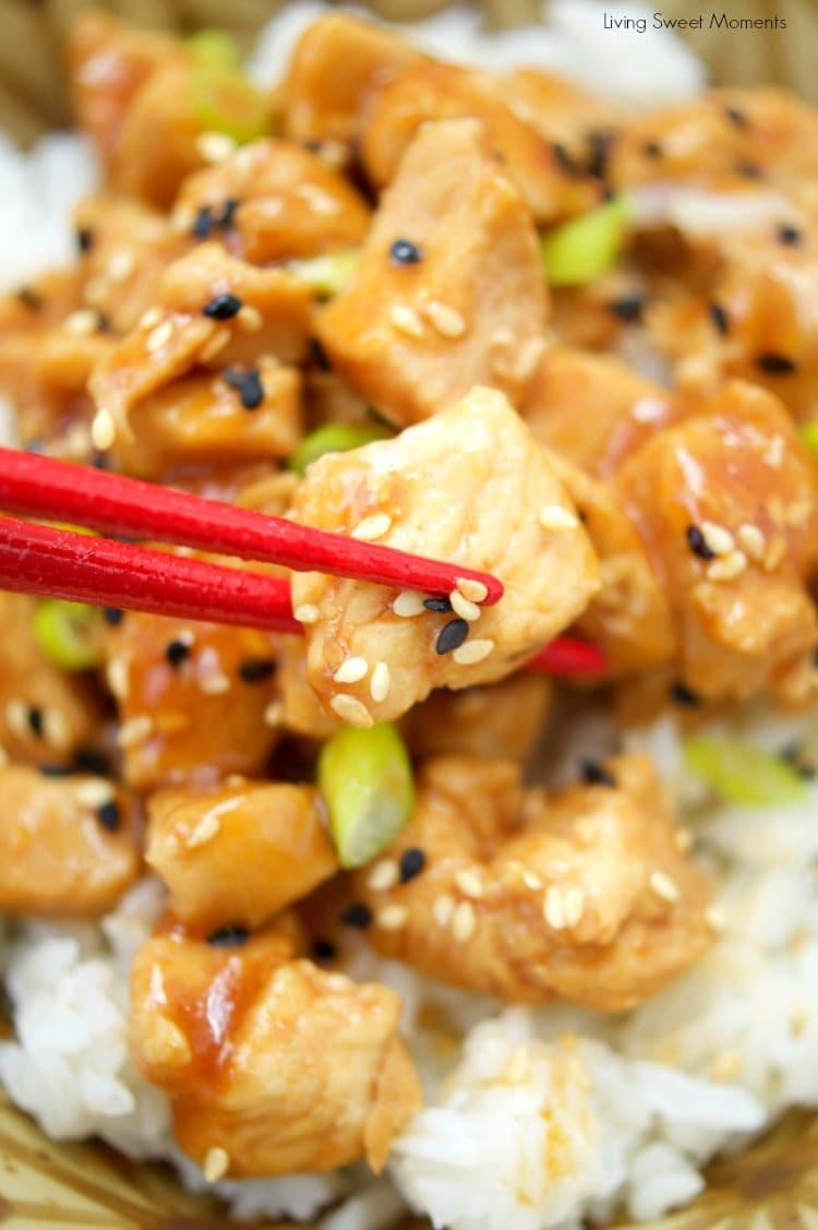 Asian Sesame Instant Pot Chicken Living Sweet Moments