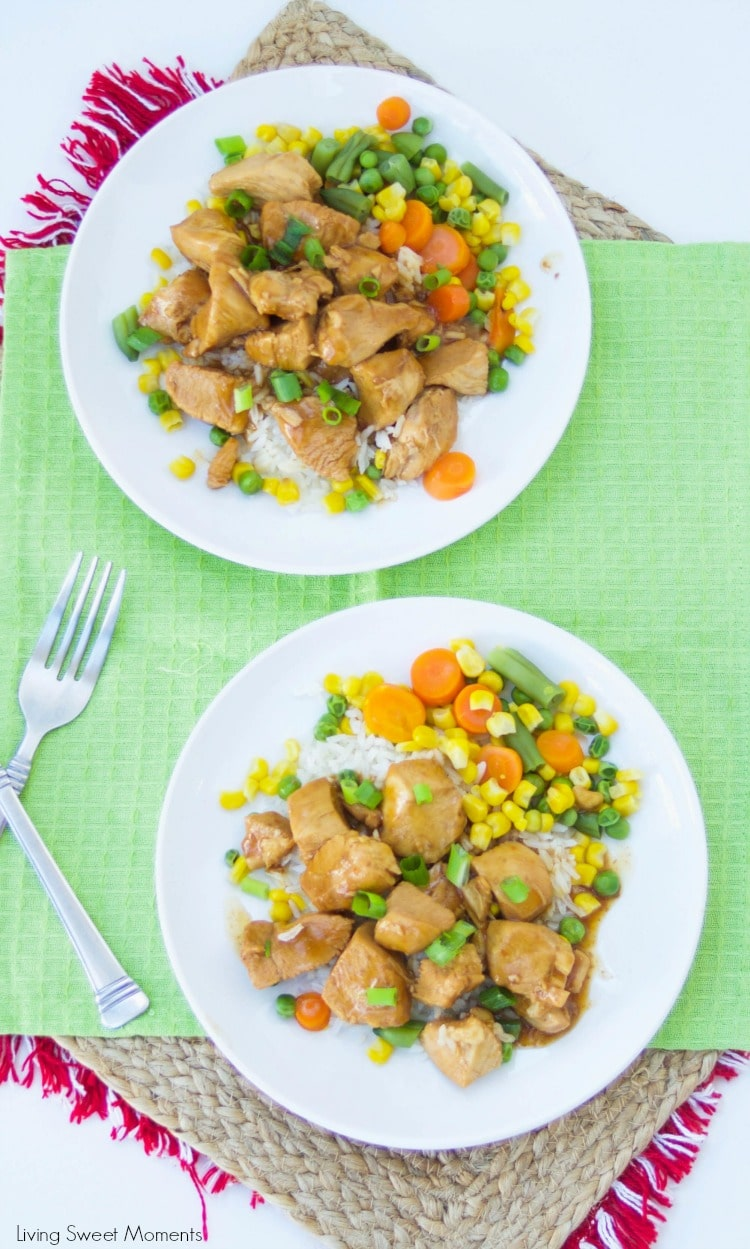 Instant Pot Orange Chicken - this delicious instant pot chicken recipe is ready in 15 minutes or less and is perfect for a quick weeknight dinner idea.