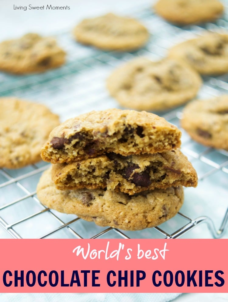 Try the World's Best Chocolate Chip Cookies recipe. They are chewy, chocolaty and so delicious. 2 secret ingredients set this recipe apart from the others.