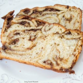 Butterscotch Chocolate Babka