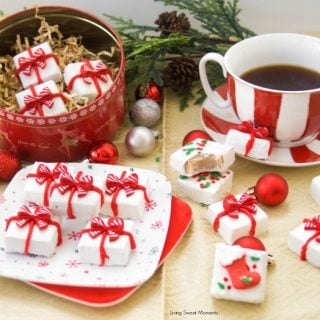 Gingerbread Holiday Fudge