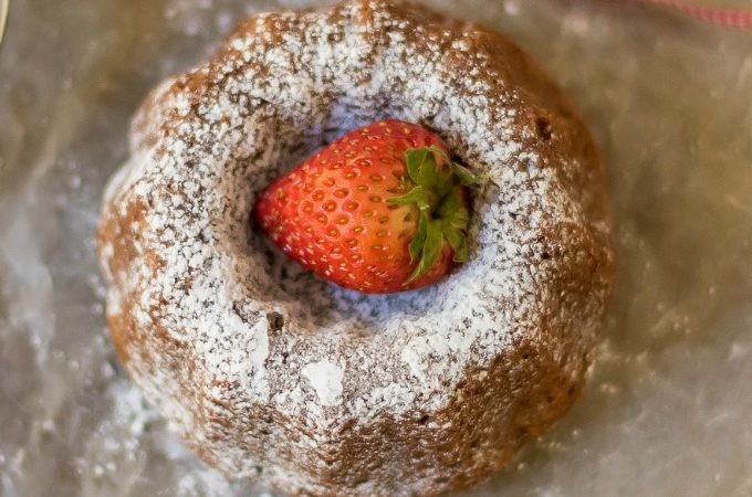 This delicious moist Mini Pumpkin Bundt Cake Recipe is the perfect elegant dessert for your Thanksgiving dinner or any other fall party. No frosting needed!