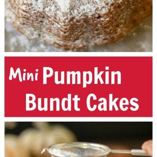 Mini Pumpkin Bundt Cake Recipe