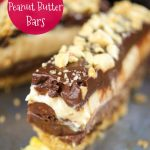 Crunchy No Bake Chocolate Peanut Butter Bars