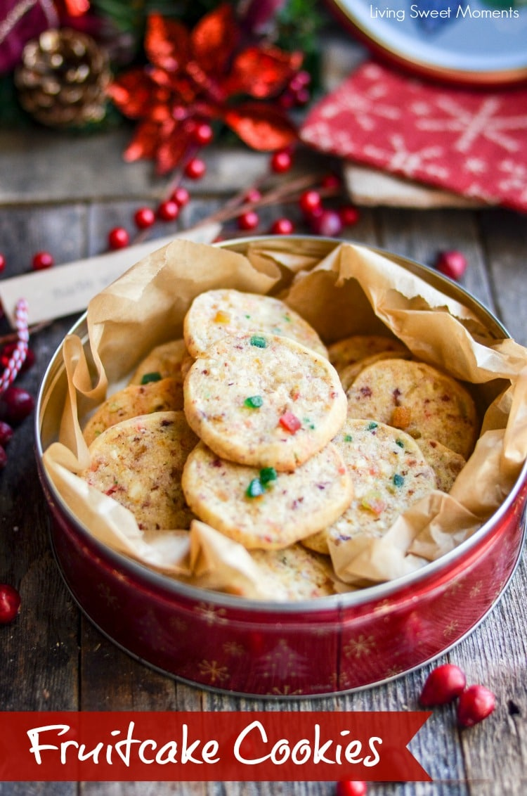 These irresistible Fruitcake Cookies will blow your mind with incredible flavor & soft texture. The perfect Christmas cookie recipe for exchanges & parties.