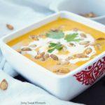 Amazing Curried Butternut Squash Soup (Vegan)