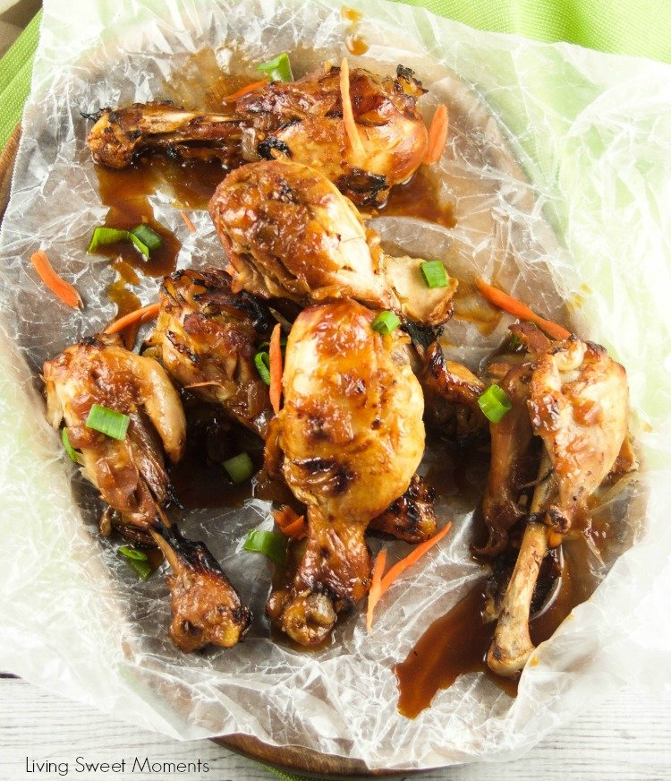 This instant pot Asian recipe for ginger garlic drumsticks is out of this world! Enjoy tender chicken in a sweet and sour sauce that's ready in no time.