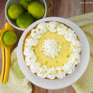 This tart and creamy Instant Pot Key Lime Pie is made in minutes right in your pressure cooker. The perfect dessert for any occasion.
