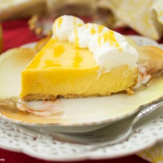 Decadent Instant Pot Passion Fruit Pie