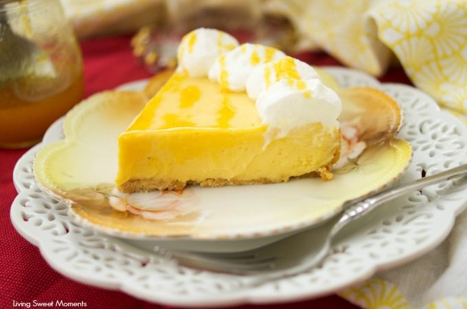 This tangy Passion Fruit Pie is super easy to make and delicious. The pie bakes in the pressure cooker (instant pot) and is ready in no time.