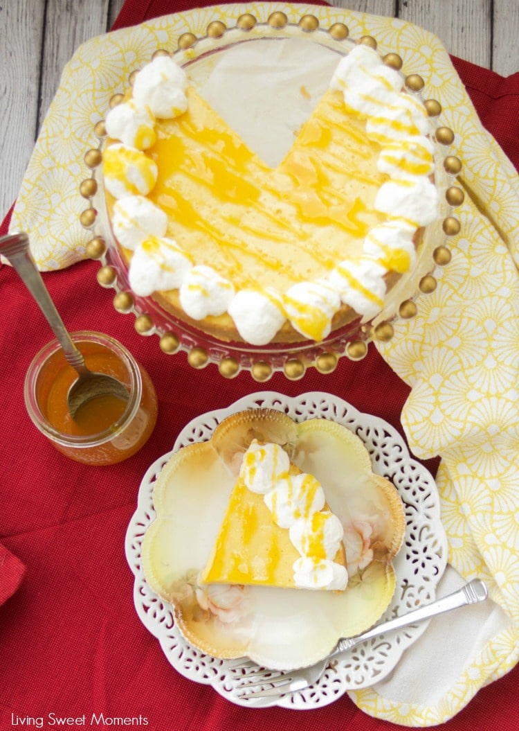 This tangy Instant Pot Passion Fruit Pie is super easy to make and delicious. The pie bakes in the pressure cooker (instant pot) and is ready in no time.