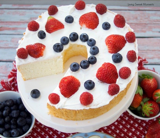 Incredibly delicious sugar free angel food cake living sweet moments incredibly delicious sugar free angel food cake forumfinder Image collections