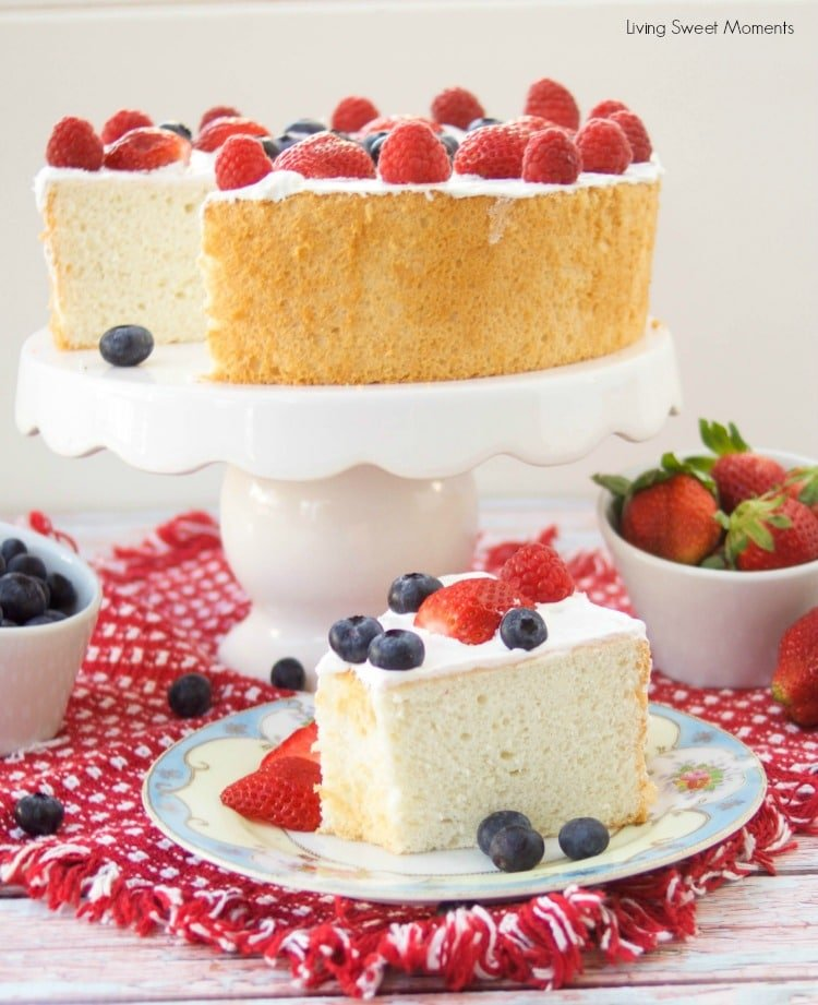 Low Carb Sugar Free Angel Food Cake Recipe