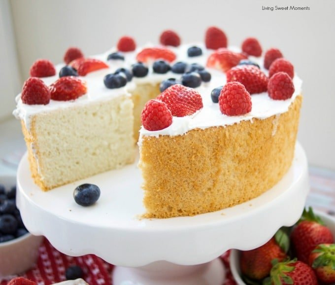 Best Lemon Angel Food Cake Recipe
