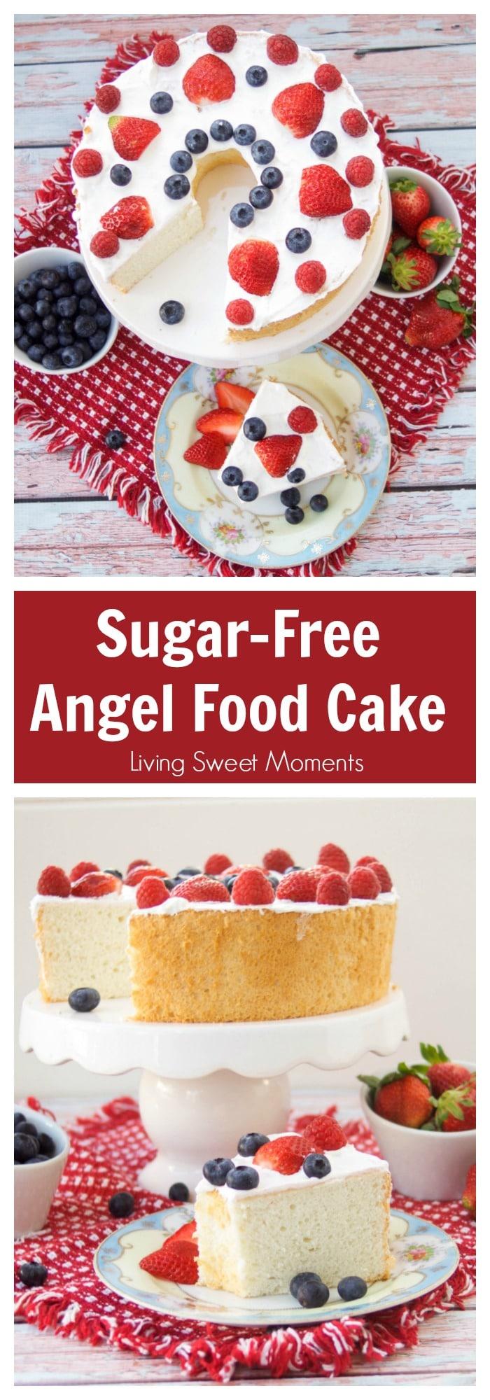 Sugar Free Dress: Incredibly Delicious Sugar Free Angel Food Cake