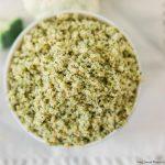 Low-Carb Broccoli Cauliflower Rice