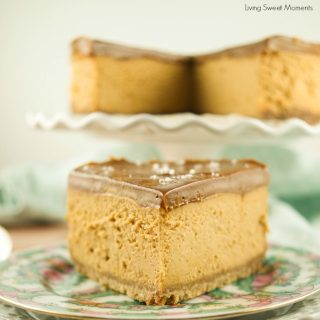 Irresistible Instant Pot Dulce de Leche Cheesecake