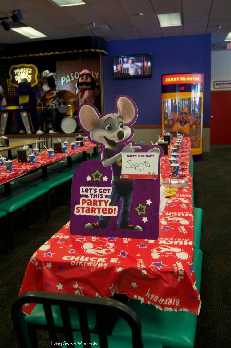 5 Reasons To Celebrate Your Childs Birthday At Chuck E Cheese