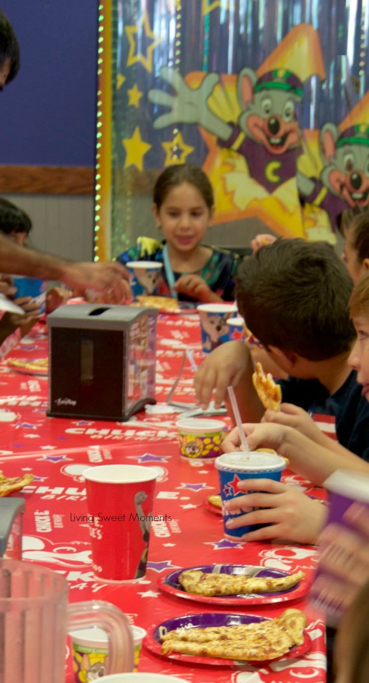 From the food, price, and entertainment, Celebrating your kid's birthday at Chuck E. Cheese is a dream come true for parents and children alike